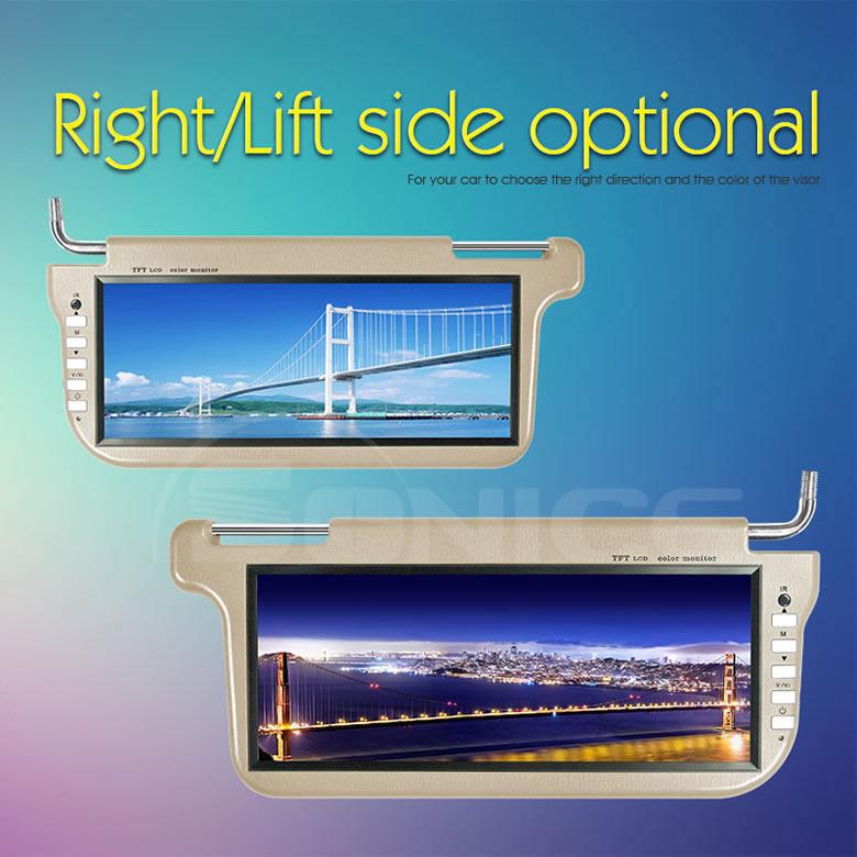12 3 Tft Lcd Universal Sun Visor Monitor Car Sunvisior